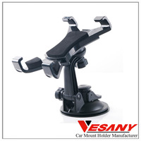 """Hottest Selling 360 Degree Rotation ABS Material For 9"""" Ipad Holder Dashboard Car Best Tablet Holder"""