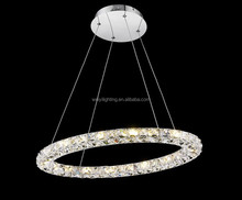 New products European Simple led ring hanging pendant light MD7105-24C