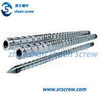 PE gas pipe single screw barrel for plastic tube extruder