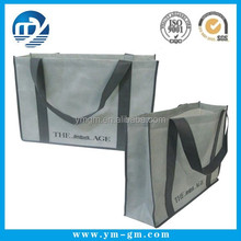 Promotional Nonwoven Reusable Folding Tote Bags for Grocery Shopping