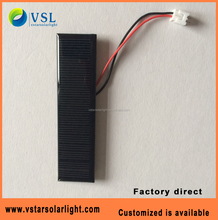 high efficiency 6V 50ma mini size solar panel manufactures in china