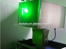 waterproof stage effect light 15W green laser logo projector
