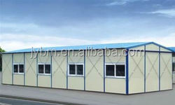 Low cost fast assembling safe and durable prefaricated house in saudi arabia and uae
