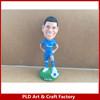 Resin football player Neymar bobble head figurine