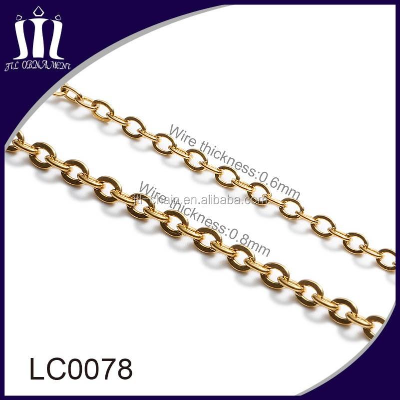 dongguan factory wholesale bulk jewelry chain buy