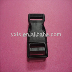2015 high quality CK161 15mm strong plastic side release buckle , popular pet collar buckle