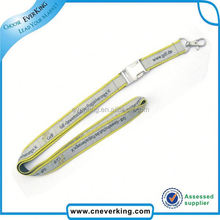 Promotion cheap pass holder polyester lanyard string in high quality