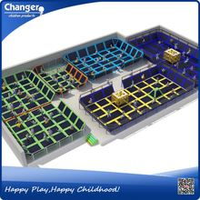 China factory CE standard ISO9001 quality control biggest trampoline