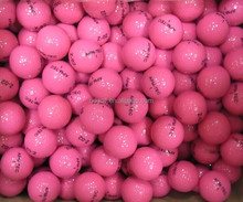 Custom made 100% new material 2 pieces golf ball