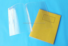 2014 China Supply Transparent School clear plastic book cover