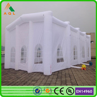 Outdoor large white wedding tents for sale/ inflatable tent price for sale