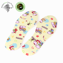 Cotton Cuttable And Removable soft Latex Foam Insoles warm pad trimmed for kids