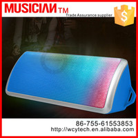 Wireless Portable Bluetooth Speaker, LED Light, Built-in Mic,Enhanced Bass Boost for Iphone 6,Iphone 6 Plus, iPhone 4, 4s, 5, 5s