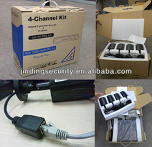 LINUX Megapixel Full HD 4CH Digital NVR Kit Support 3G/ Wifi/ Smartphone monitor NVR