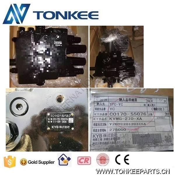C0170-55076 KVMG-270-XA original new KYB hydraulic control valve (7).jpg
