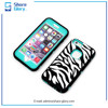 Zebra-Stripe Phone Case for iphone 6 Three in One Protective Cover 01