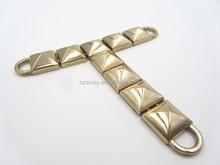 High Quality Polished Fancy Rhinestone Shoe T Chain for Lady Sandal