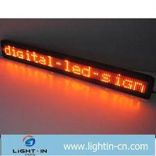led sign xxx moves 1R1G/RGY F5 P7.62 indoor single/dual color dot matrix LED module