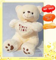 stuffed teddy bear with love heart toys