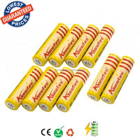 wholesale AloneFire 18650 rechargeable Battery 3.7V 4200mAh Li-ion Camera Flashlight Torch Battery 18650