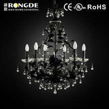 Crystal lamp,black chandelier,italian chandelier light