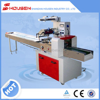 Automatic clear plastic bread bags packaging machine with CE Certification