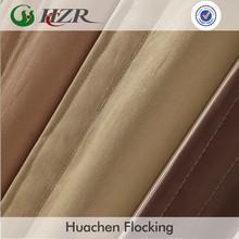 polyster slubbed faux silk blackout curtain fabric manufacture