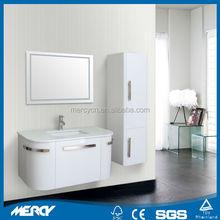 Hot Sale White Wall Mounted PVC bathroom furniture