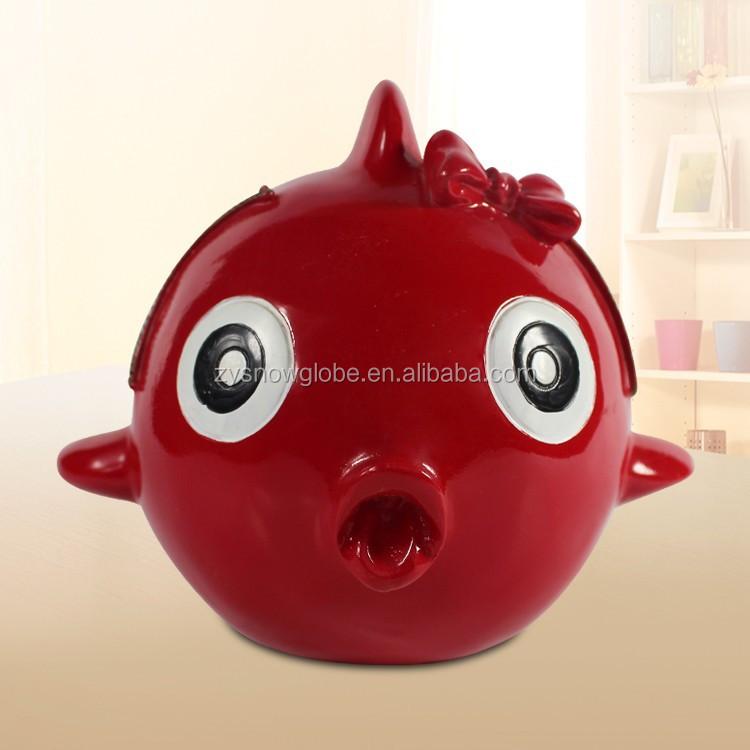 2014 Wholesale Cheap Fish Piggy Bank Buy Cheap Piggy