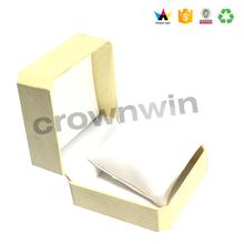 Delicate inner sponge white cardboard Jewelry box