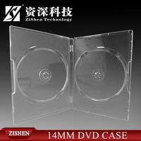 Transparent 14Mm Long Dvd Case