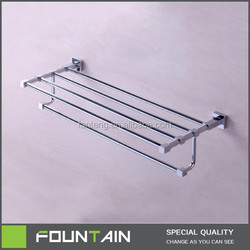 Anti-rust Aluminum Alloy Bathroom Wall Mounted Mat Modern Hotel Towel Rail