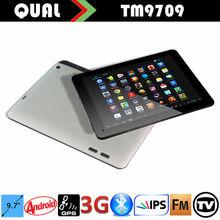 "Super Slim! 9.7"" ips capacitive to 3g sim card gps hdmi with Quad Core Bluetooth GPS Navigation FM/ATV Full function B"