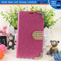 Luxury Diamond Case Flip Cover For Samsung S5 I9600, Flip Cover For Galaxy S5 I9600 Diamond Case