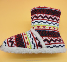 In recent years new design hot sale warm knit soft shoes