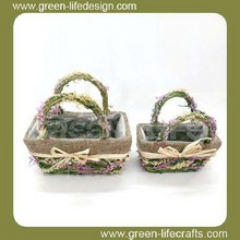 Decorative baskets for wedding