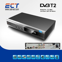 2014 Hot Sale Thailand Russia DVB-T2 freeview receiver USB player EPG RECORD Multiple PLP