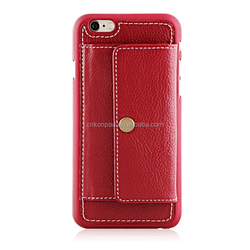 for iphone 6 genuine leather case,leather wallet case for iphone 6