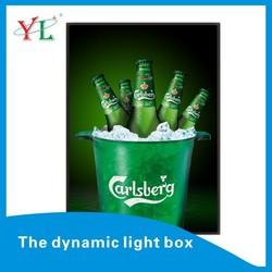 Dynamic Poster Aluminum Frame Flash/Animation Light Up Picture Frame