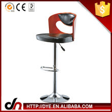 Base cromada chrome bar stool bar fezes lombar móveis bar comercial bar stool