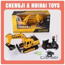 2015 emulare scala 1:18 escavatore caterpillar rc modello giocattolo per i bambini