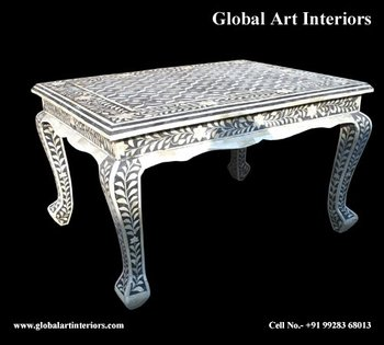 bone inlay coffee table buy bone inlay coffee table inlay indian table bone inlay floral. Black Bedroom Furniture Sets. Home Design Ideas