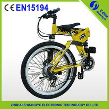 "2015 factory new 26"" 36V folding mountain electric chopper bike"