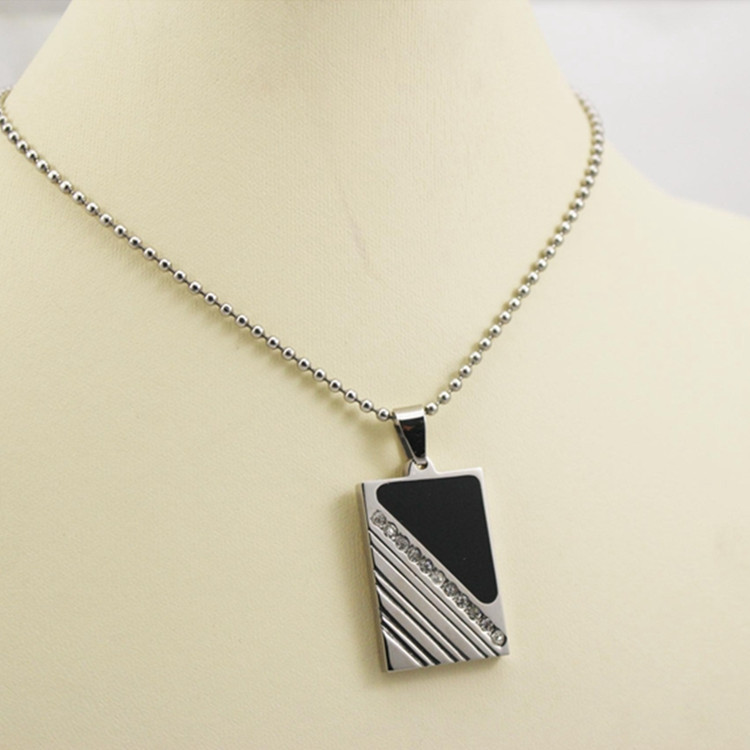 cheap custom name design necklace china factory