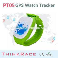 2015 Thinkrace New kids gps watch phone PT05/in kids gps watch phone