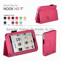 """Tablet PC high quality flip case For NOOK HD 7"""""""