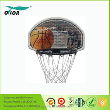 Wholesale good price best quality basketball board on the wall with 42cm black rim