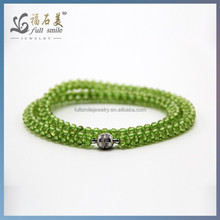 Natural Gemstone Faceted Beads peridot jewelry