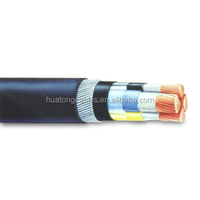 Power Cable Low/Mid Voltage Cooper Conductor XLPE Insulation Steel wire armoured