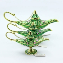Popular wholesale plated Aladdin Lamp jewelry boxes WS1253 Small